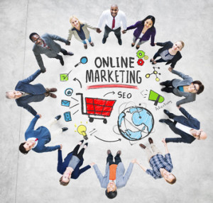 Online Marketing Business Global Purchase Networking Connection Concept