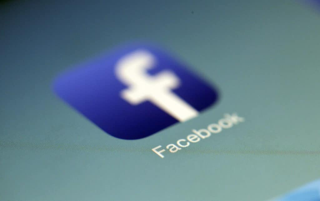 Facebook - ikonka w telefonie
