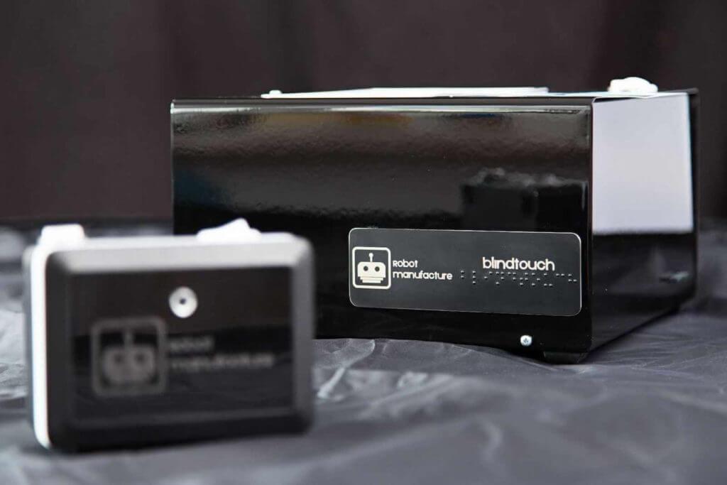 Aparat fotograficzny dla niewidomych Blindtouch