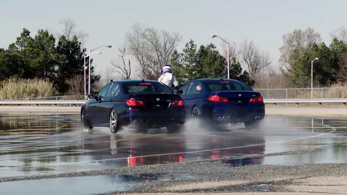 Drift BMW M5 rekord