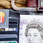 Karta płatnicza, funty