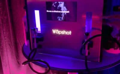 Vapshot - inhalacje z alkoholu