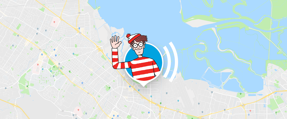 Wally na Mapach Googlowych