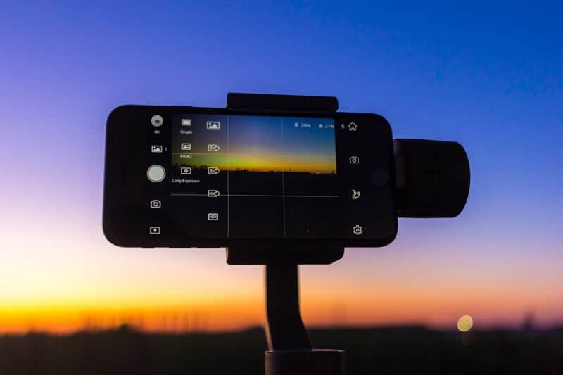 DJI Osmo Mobile 2 - tryb fotograficzny