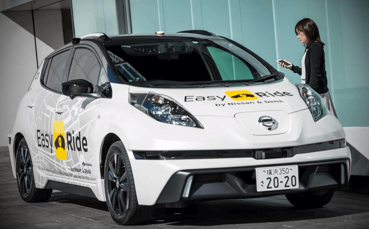 Taxi od Nissana - EasyRide