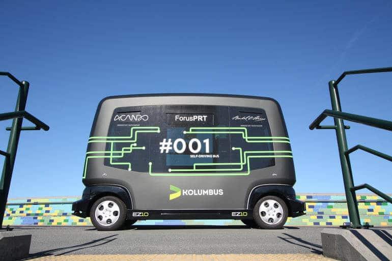 Autonomiczny autobus Kolumbus