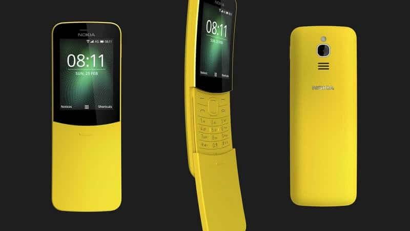 Nokia 8810 - podgląd