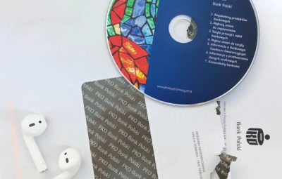 Płyta CD z nowymi regulaminami PKO BP