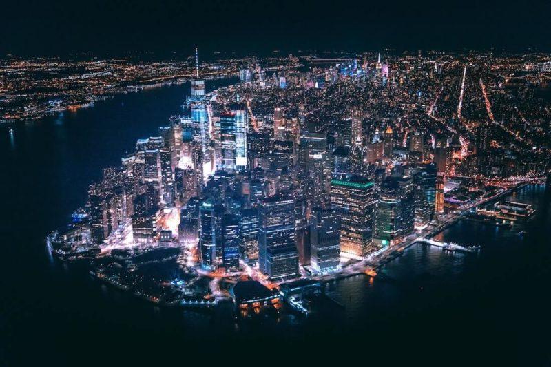 Zdjęcie Nowego Jorku z drona