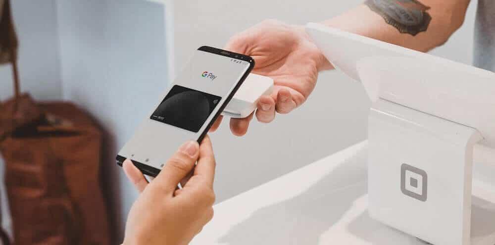 Płatność zbliżeniowa za pomocą Google Pay