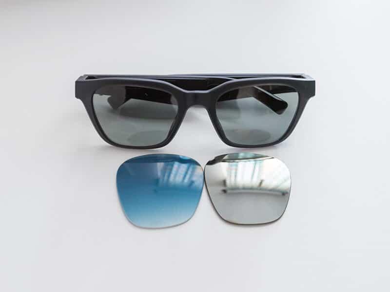 Okulary przeciwsłoneczne Bose Frames z opcjonalnymi soczewkami