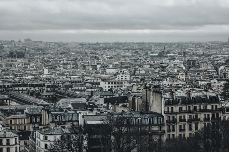 Paryż - trójpodział