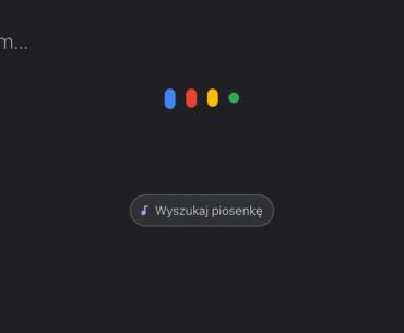 Rozpoznawanie muzyki Google