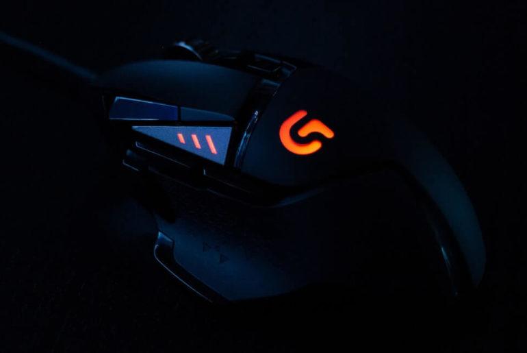 Podświetlana myszka gamingowa