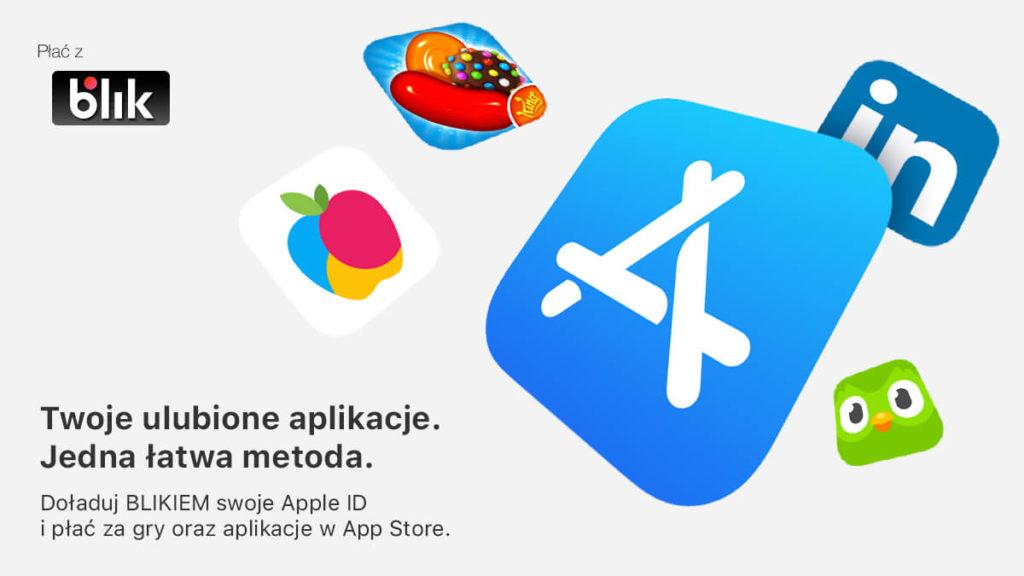 Płatności BLIK w AppStore