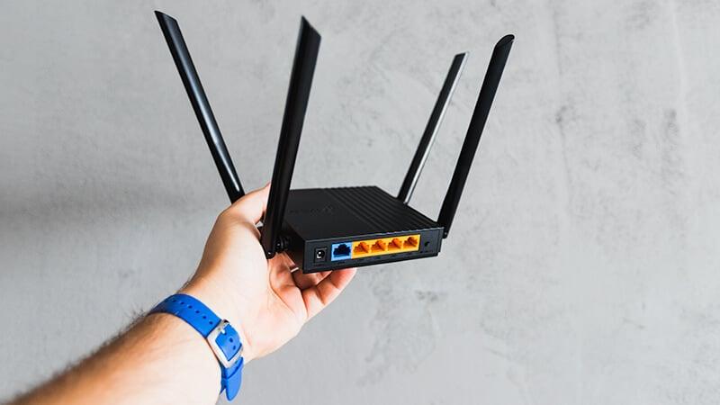 Tył routera TP-Link Archer C64