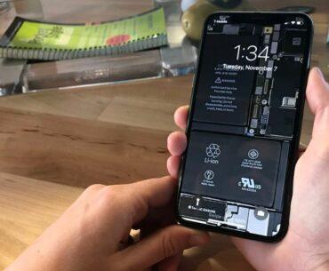 Przezroczysta tapeta iPhone